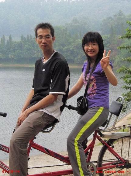 双人自行车 大夫山