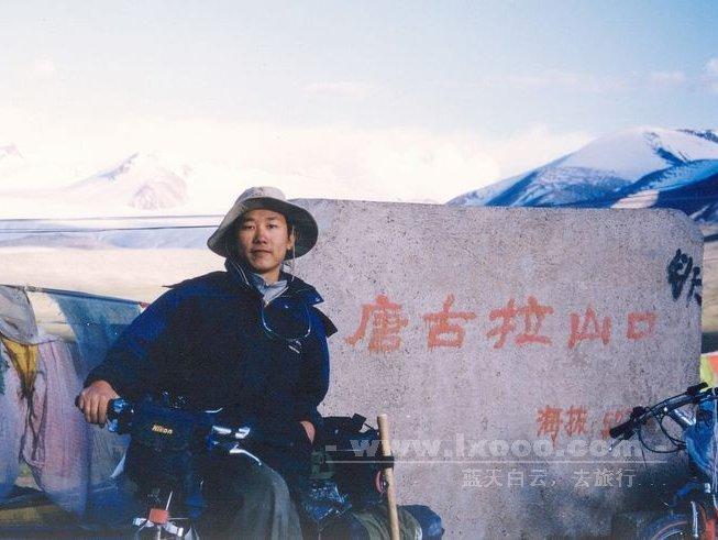 在西藏唐古拉山口的摩凝(M.Chan)