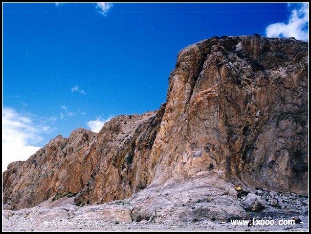 西藏纳木错神山