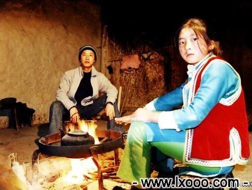 摩凝(M.chan)和藏家小女孩 @ 四川雅安硗碛彭措