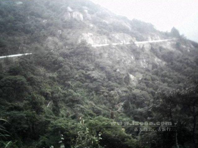 南昆山的盘山公路