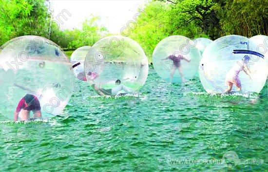 水上波波球