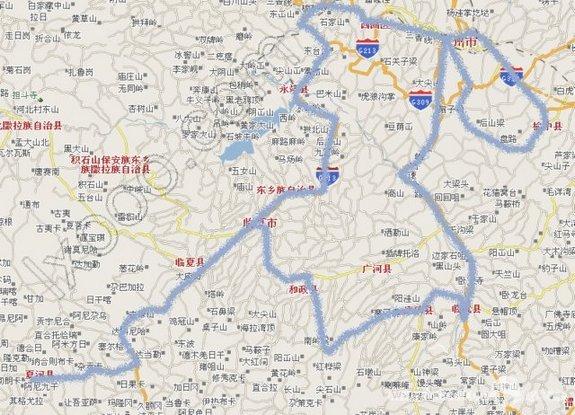 兰州-甘南行车图