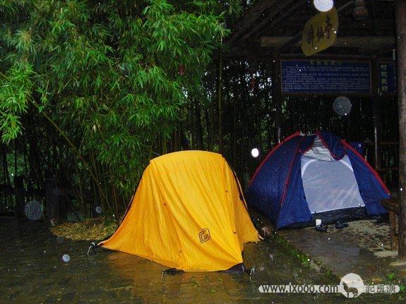 大圩古镇毛洲岛上Sammi的帐篷