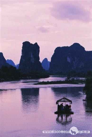 漓江船歌——漓江的水,漓江的歌,漓江的人…