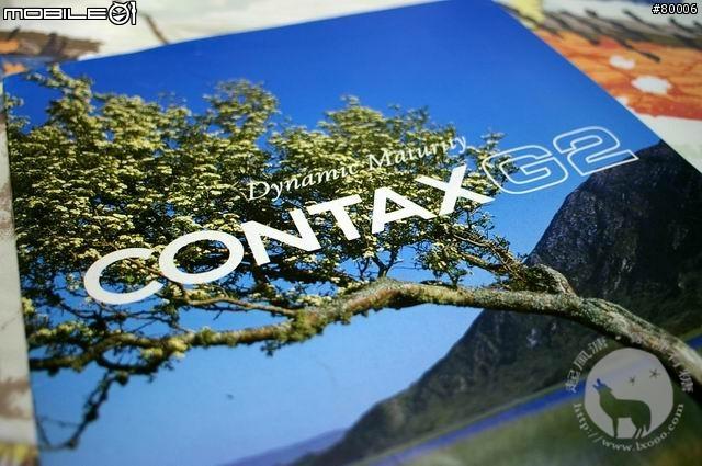 Contax G2 旁轴系统相机