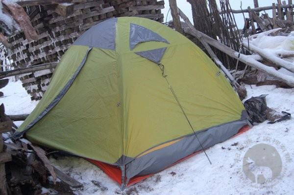 百丈岭上的帐篷