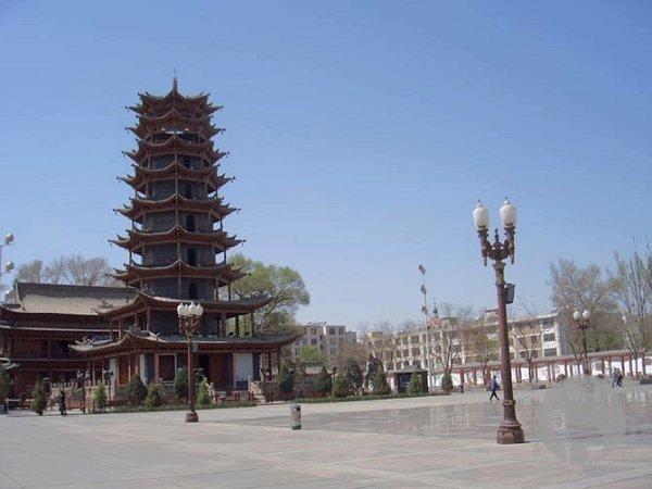 张掖市广场