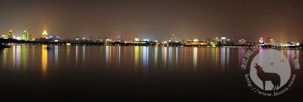 杭州夜西湖