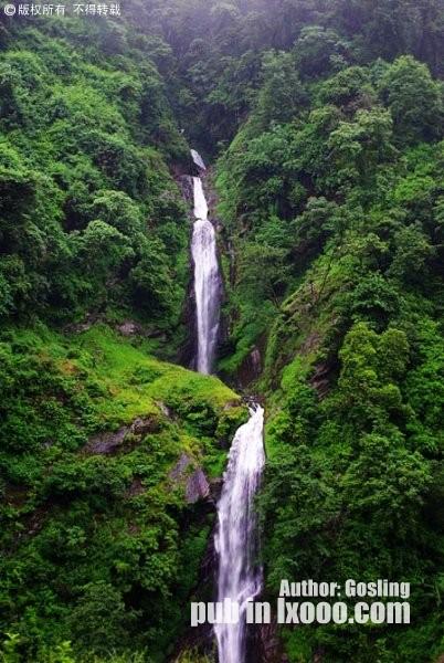 樟木瀑布群