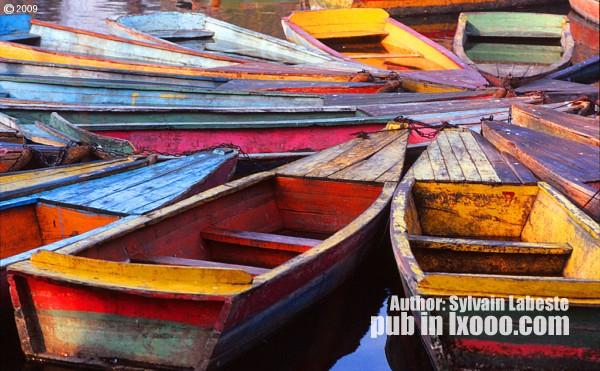 昆明 木船 照片