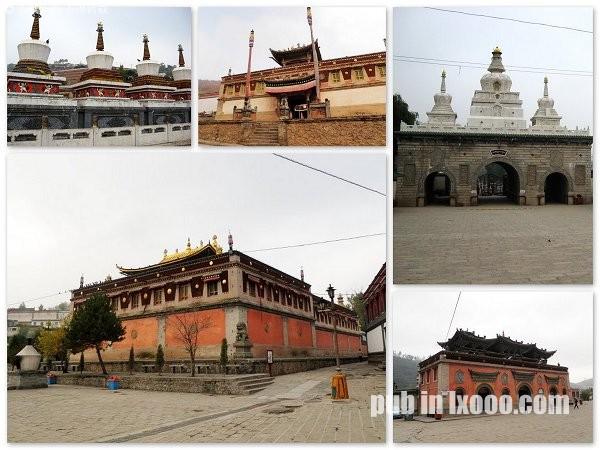 塔尔寺的藏传佛教庙宇群