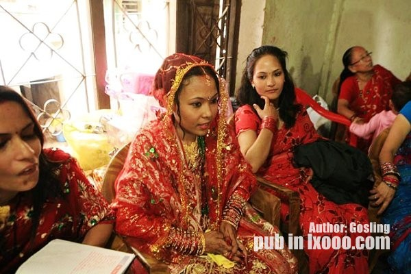 尼泊尔的新娘子