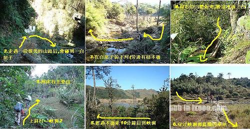 上斜村→峡洞 徒步指引图 三