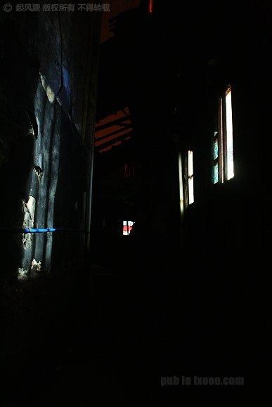 洪江古商城的窗户