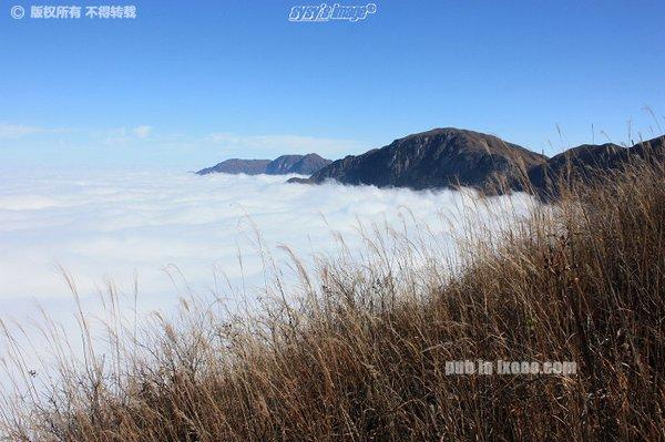 九龙山的云海