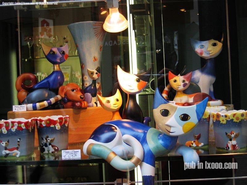 亚琛 猫 木偶 照片