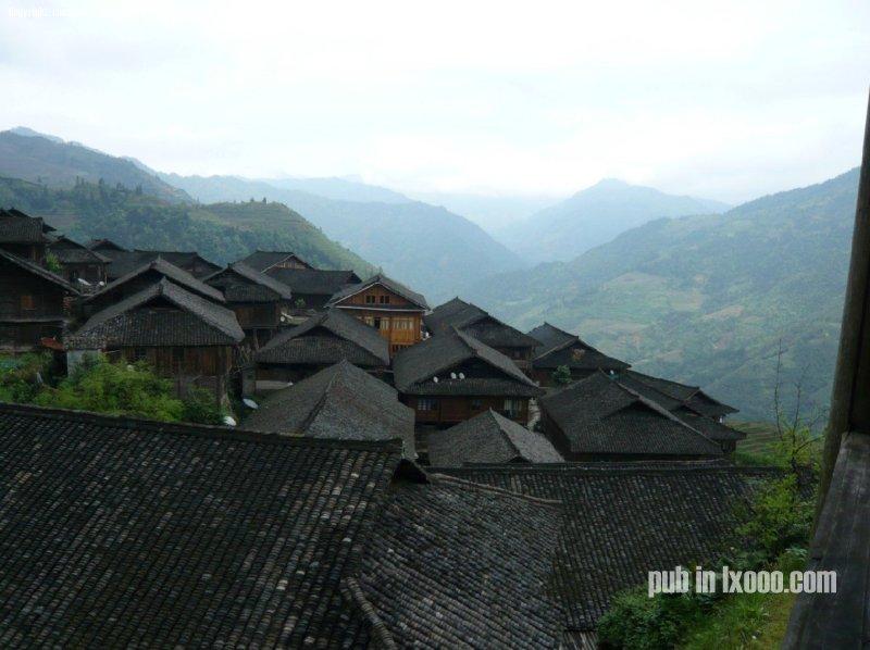 龙脊梯田的屋顶