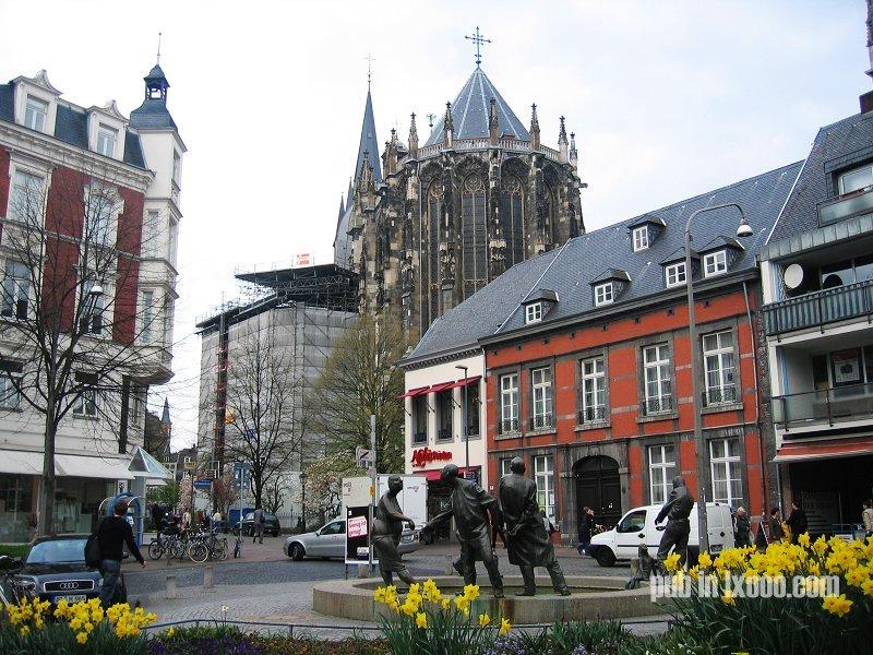 亚琛 街景照片
