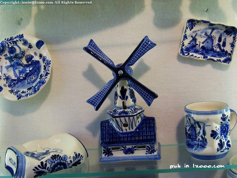 风车 陶瓷 摆设