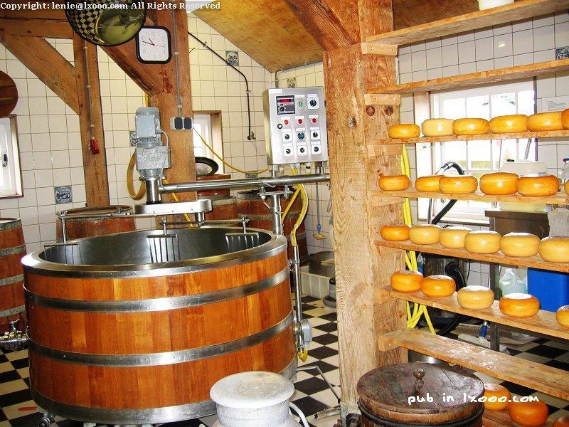 赞斯堡(赞斯安斯)的奶酪工厂
