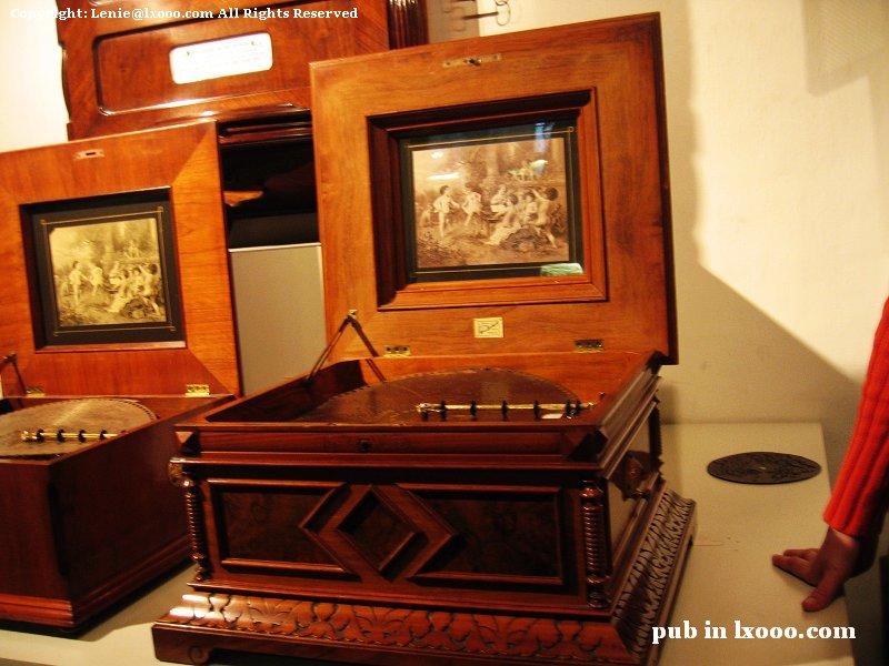 木盒 自鸣琴