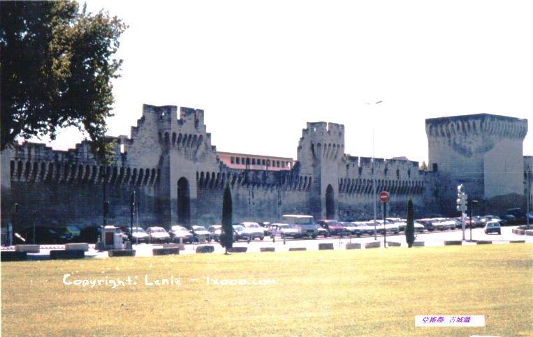 亚维农 Avignon 阿维尼翁 的古城墙