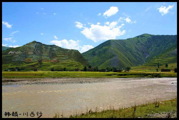 达塔公草原 河流
