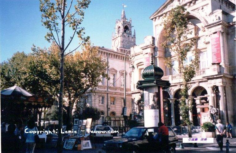 亚维农 阿维尼翁 街景