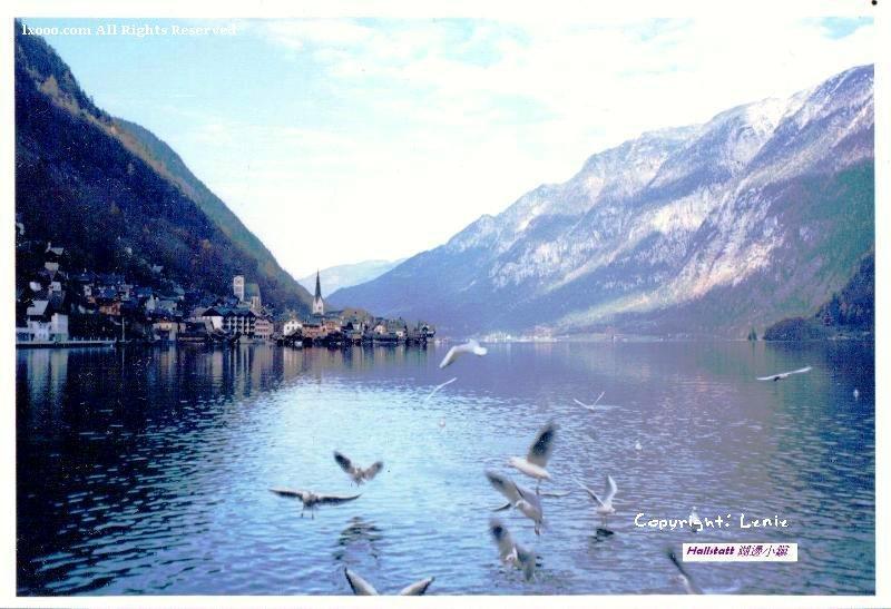 奥地利 湖边小镇 哈斯达特