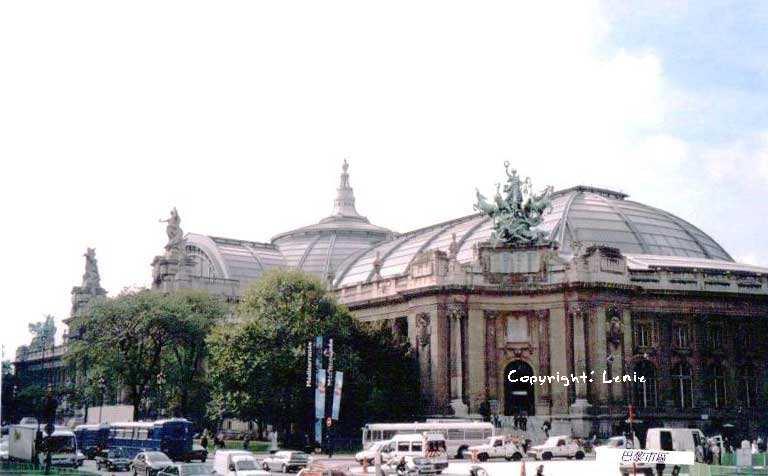 巴黎市区的建筑物