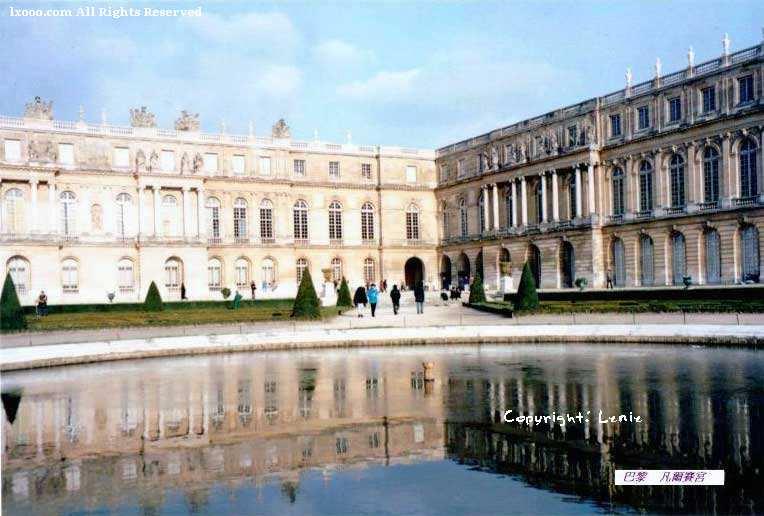 凡尔赛宫近景