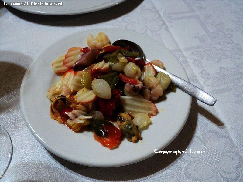 TAPAS 海鲜小菜盘