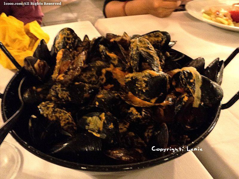 巴塞罗那 炒淡菜 海鲜 贝类