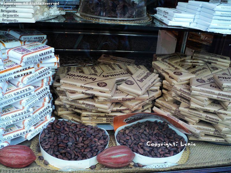 可可豆 巧克力 商店