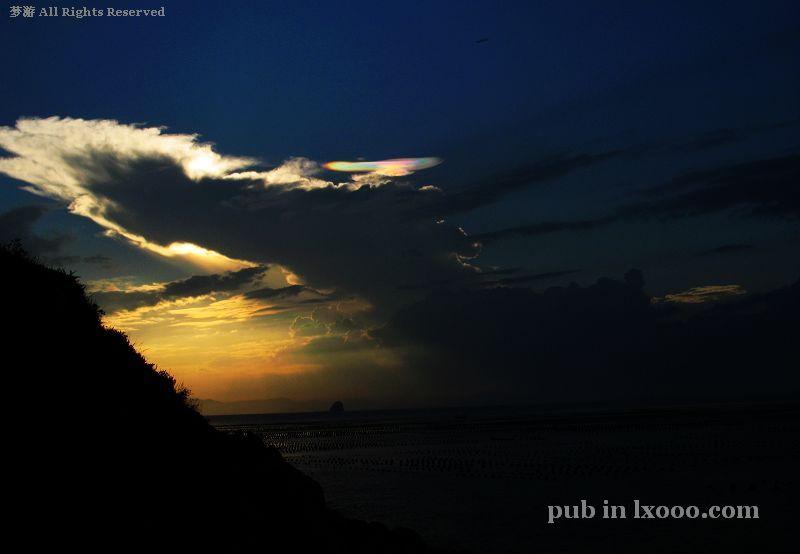 江牡岛 彩云