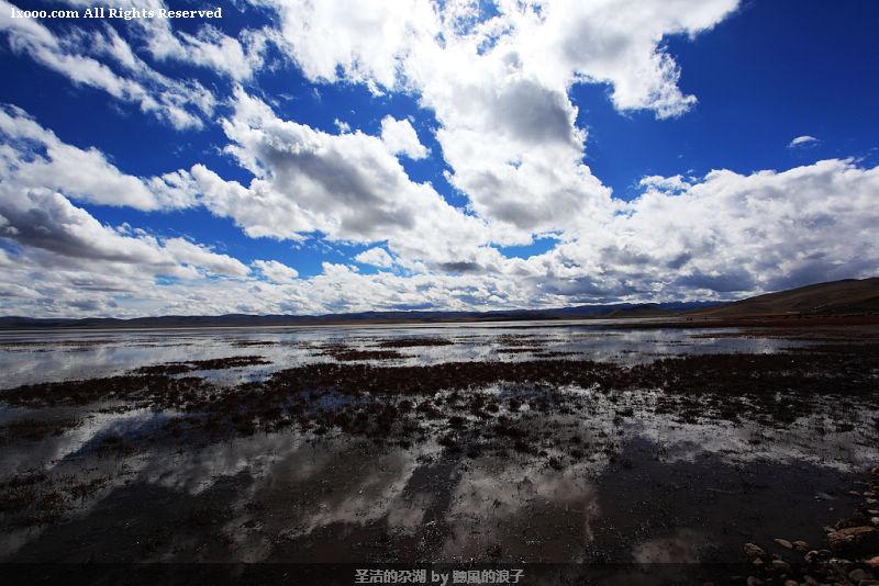 圣洁的尕湖