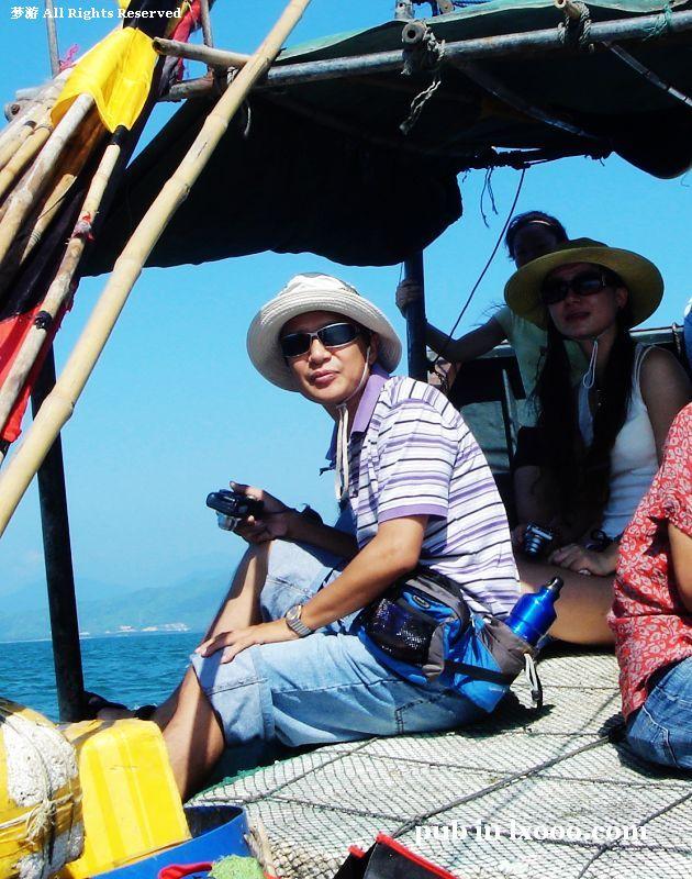 江牡岛 船上 梦游