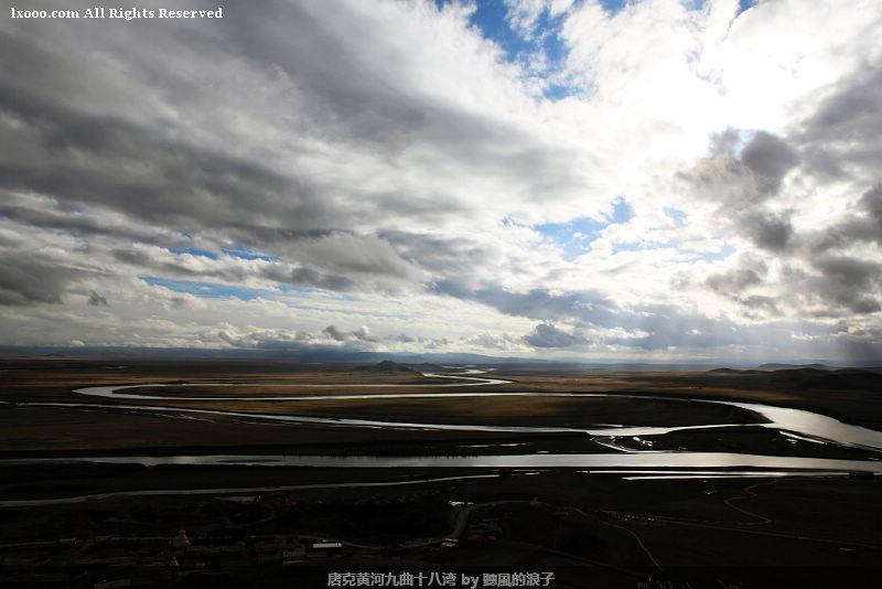 唐克黄河九曲十八弯