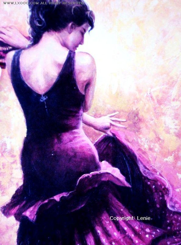 弗朗明哥舞蹈海报