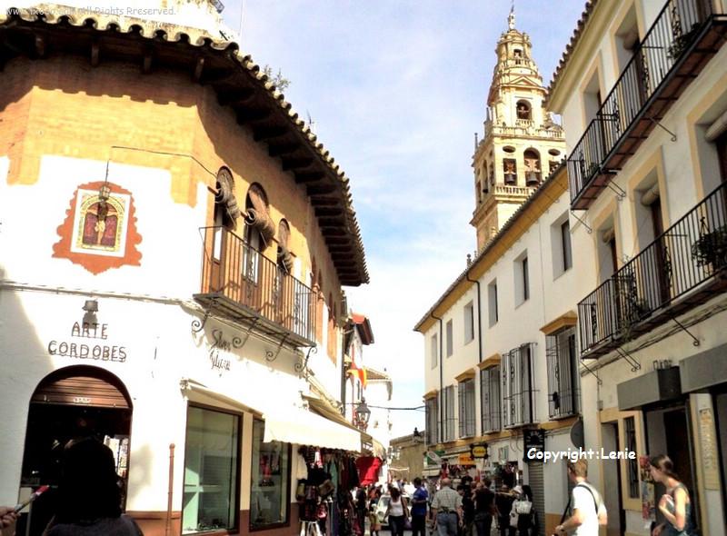 西班牙科尔多瓦古城区街景