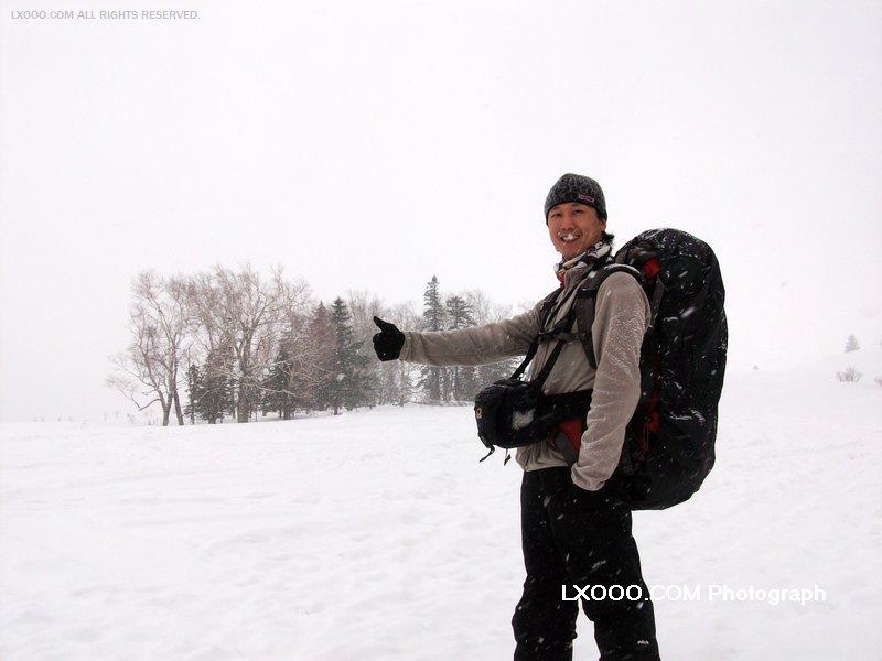 2009年二月,穿越黑龙江龙虎山