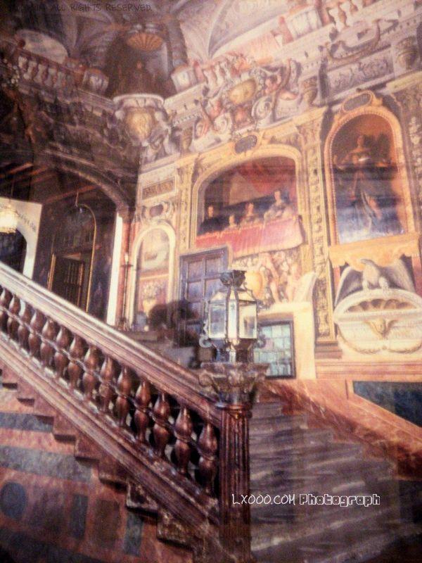 西班牙皇宫内景