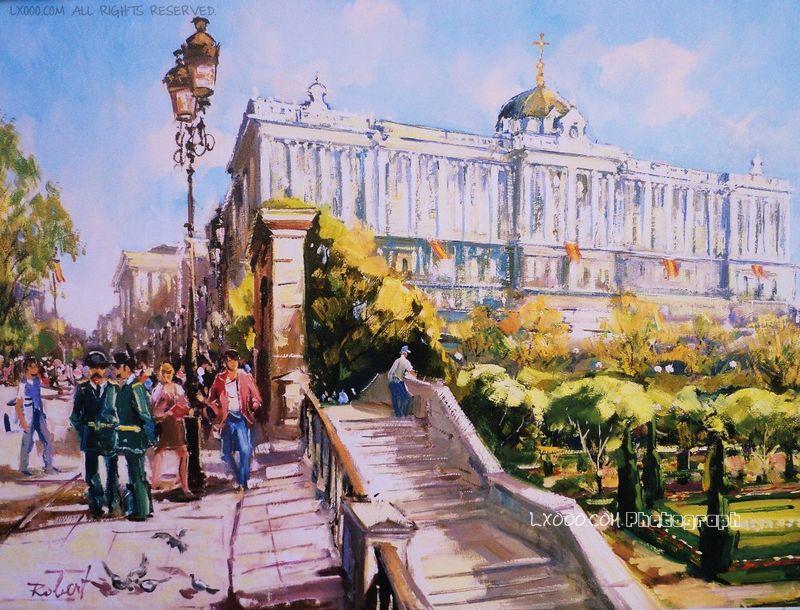 画家笔下的西班牙皇宫