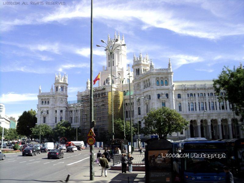 西班牙马德里街景
