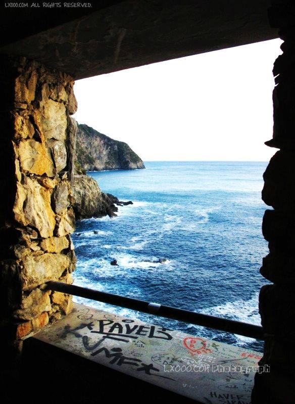 五渔村(五乡地 Cinque Terre)一景