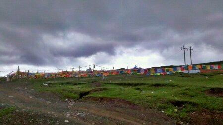 西藏芒康宗巴拉山垭口