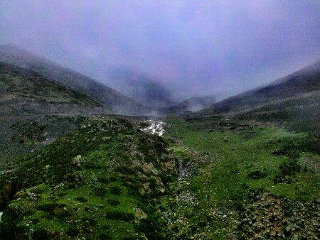 昨晚住的东达山上的藏民家