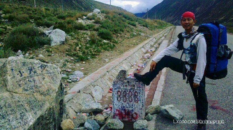 川藏线G318:3838公里处的摩凝(M.Chan)